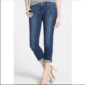 Paige Laurel Canyon Cropped Jeans Size 29